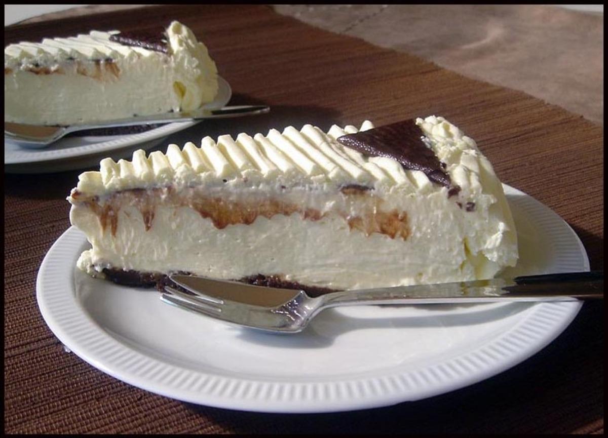 Chocolate Mint No-Bake Cheesecake image