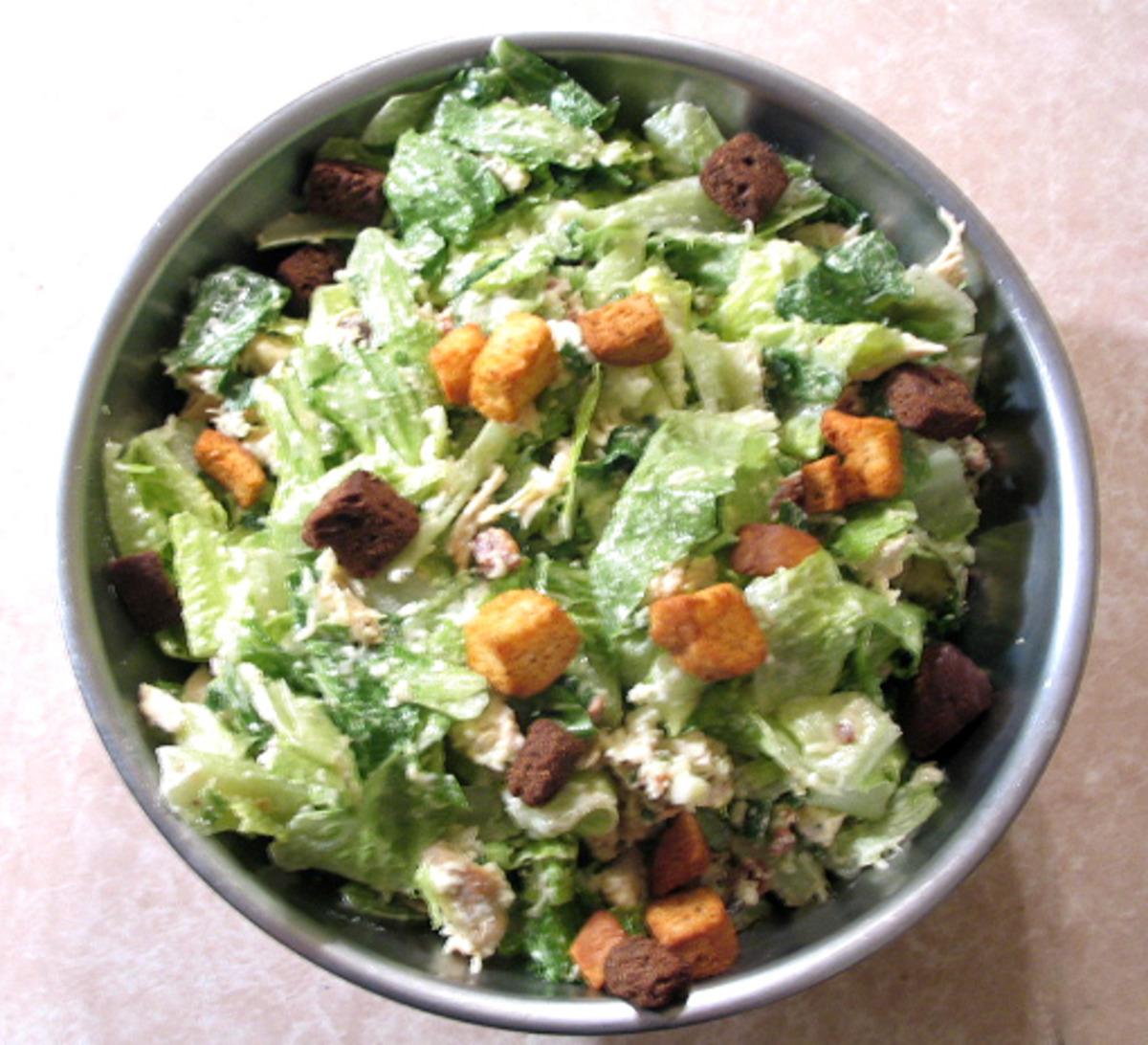Easy Chicken Caesar Salad image
