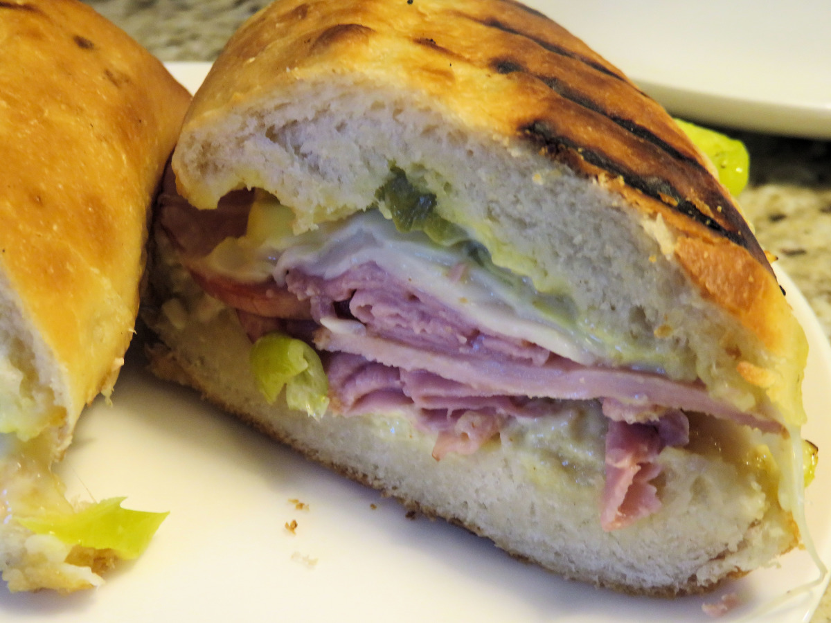 Grilled Cuban Sandwich image