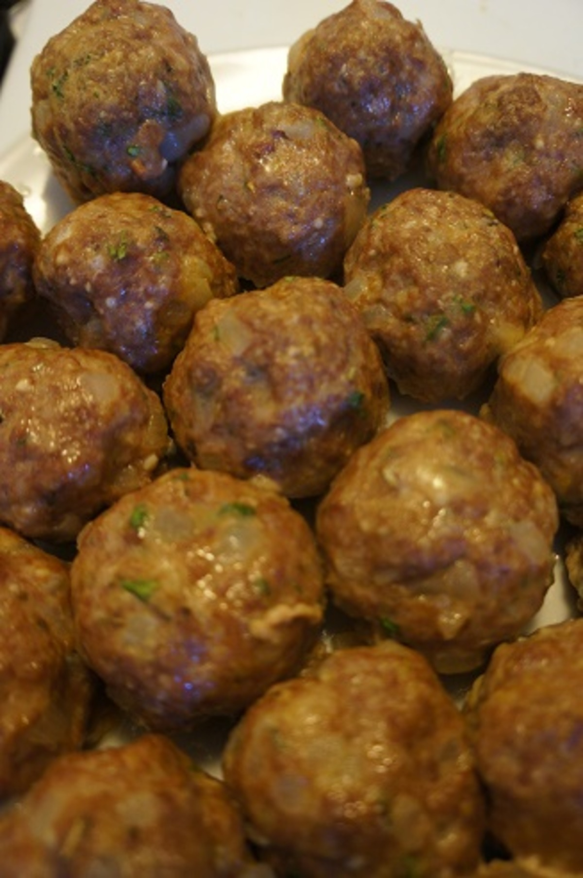 Lightened Up Version Of Anne Burrell S Excellent Meatballs Recipe Food Com