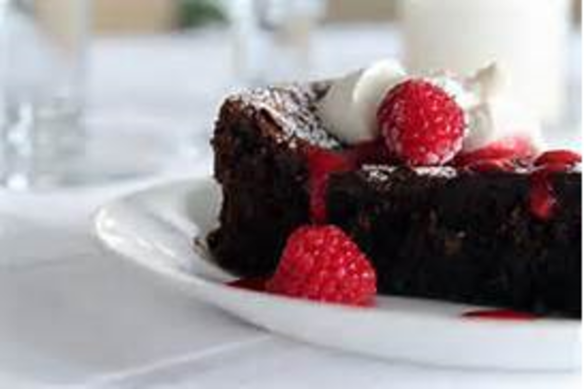Easy, Decadent, Incredibly Chocolatey Chocolate Torte Gluten Fre image