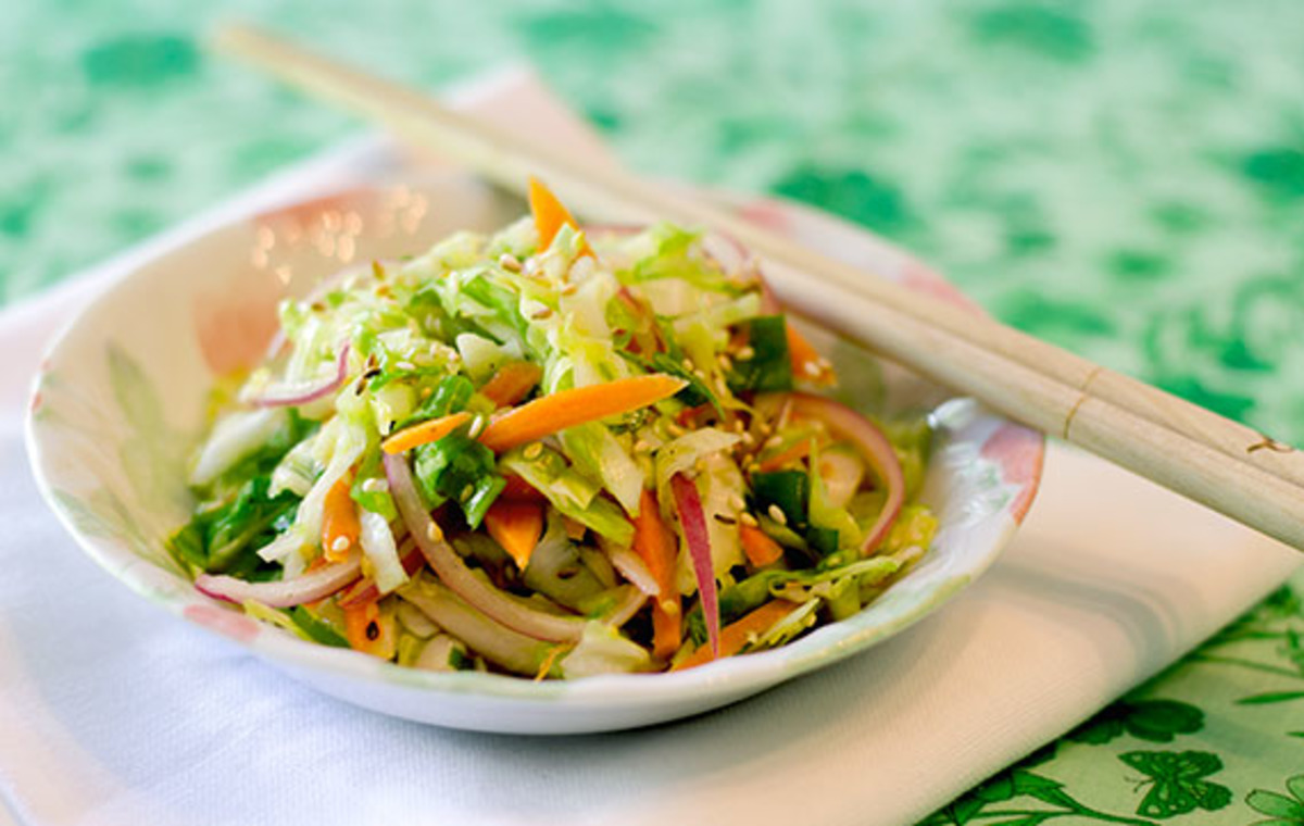 Asian Coleslaw (Dairy Free) image