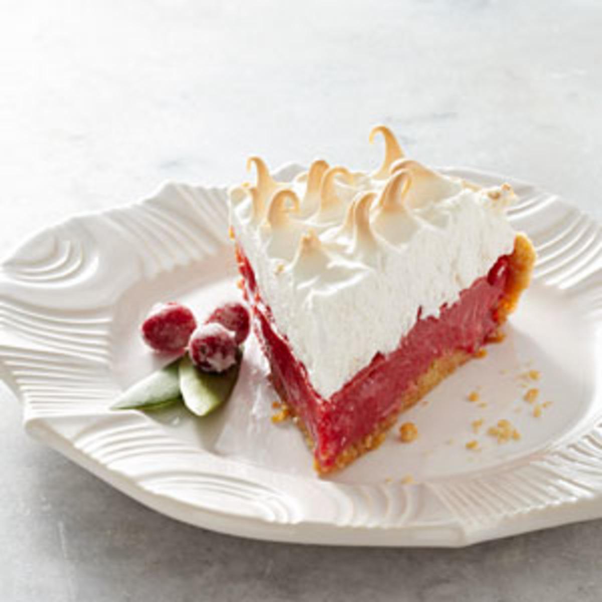 Cranberry Meringue Pie image