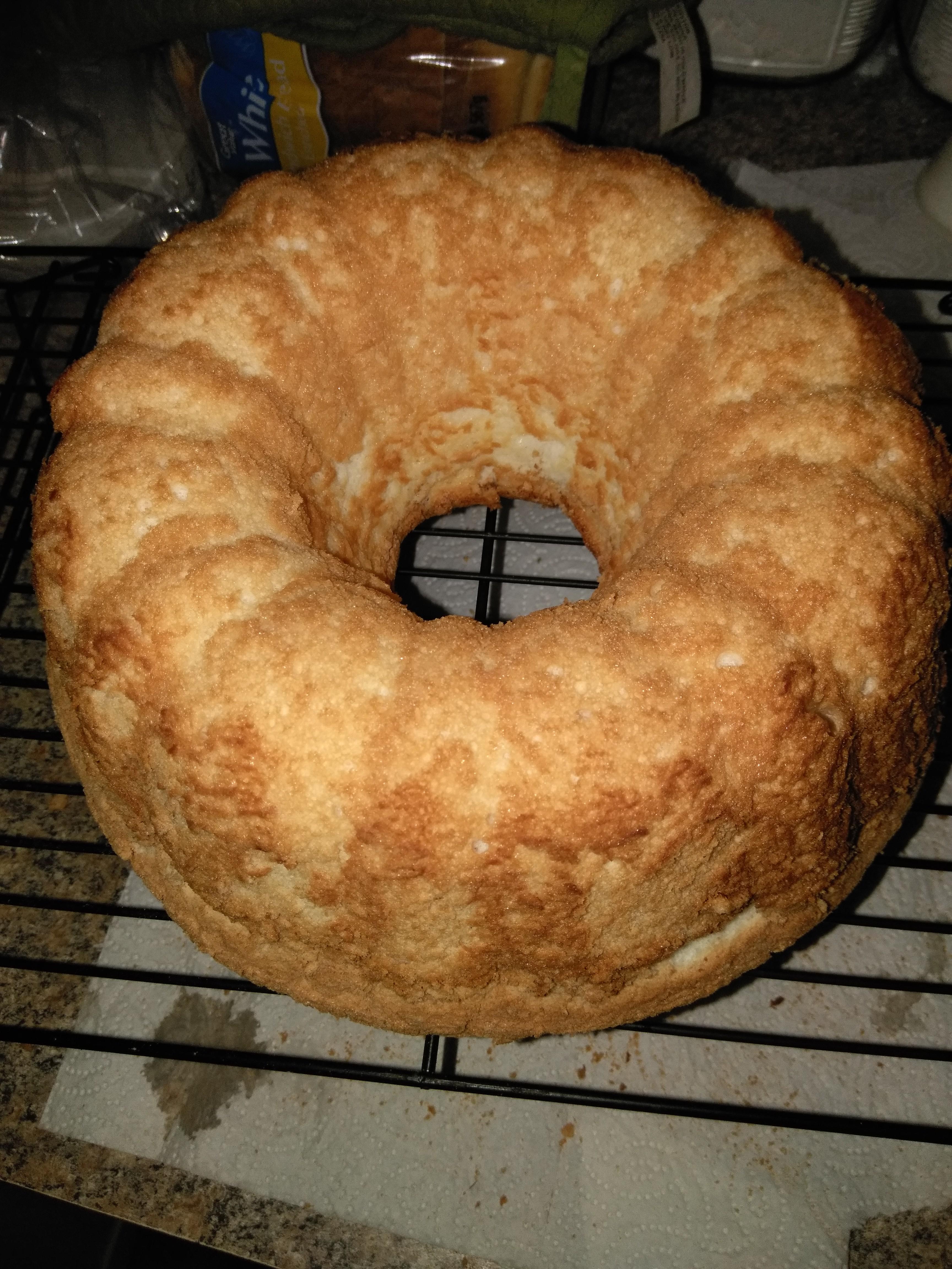 Angel Food Cake Homemade Recipe Genius Kitchen