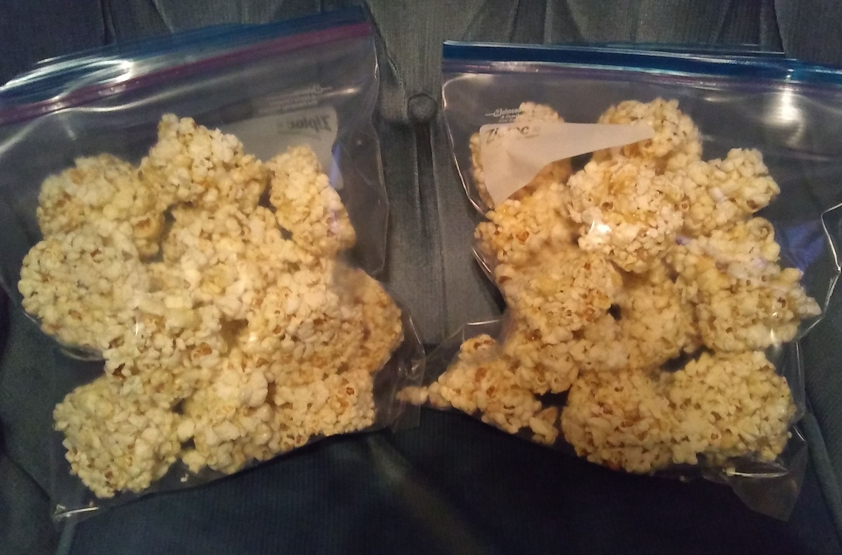 Easy popcorn balls recipe genius kitchen cup measure and using it as a mold i washed my hands and resprayed the cup several times during the process the popcorn balls slid out easily and the forumfinder