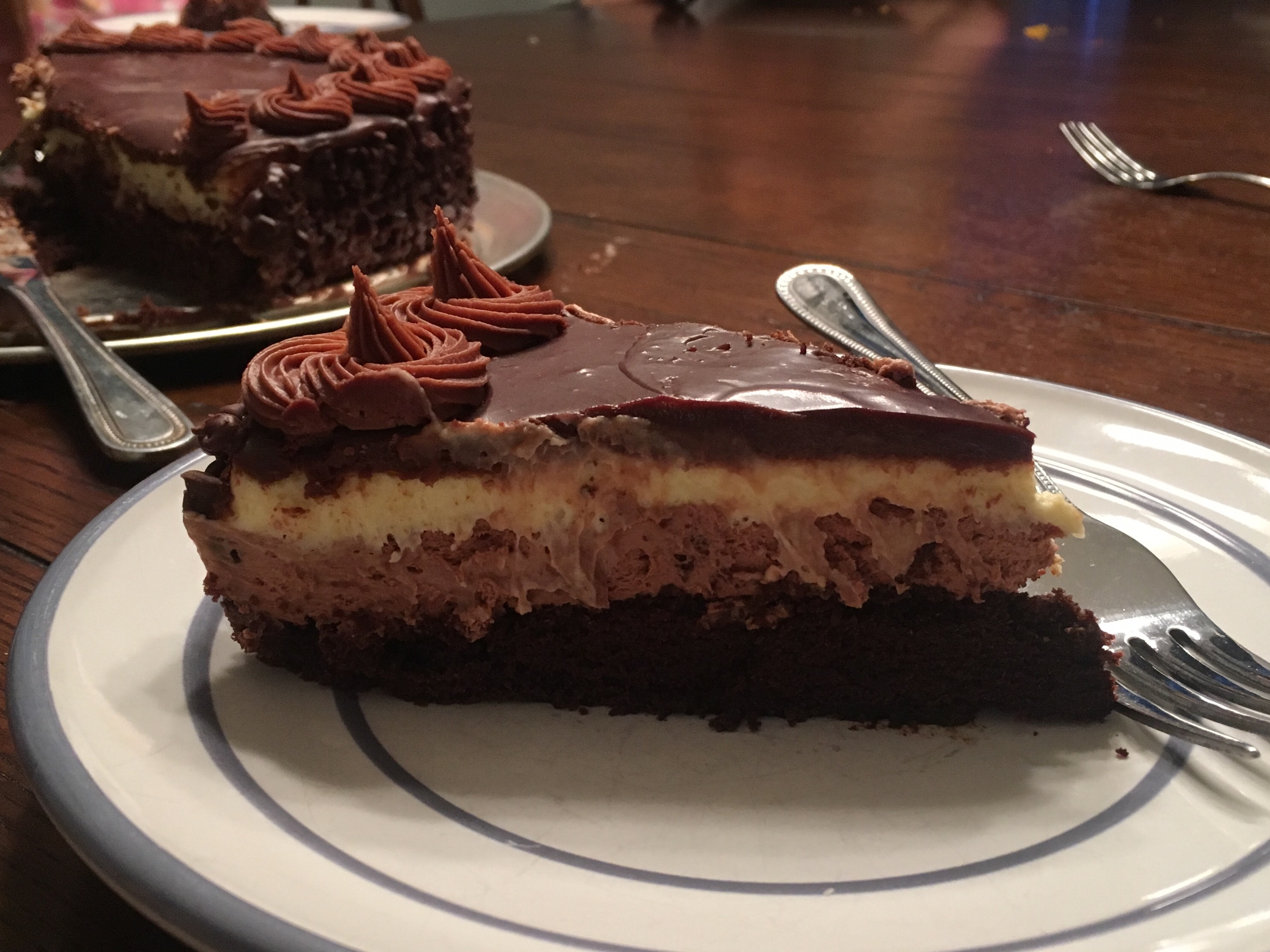 the Real* Black Tie Mousse Cake By Olive Garden Recipe - Genius Kitchen