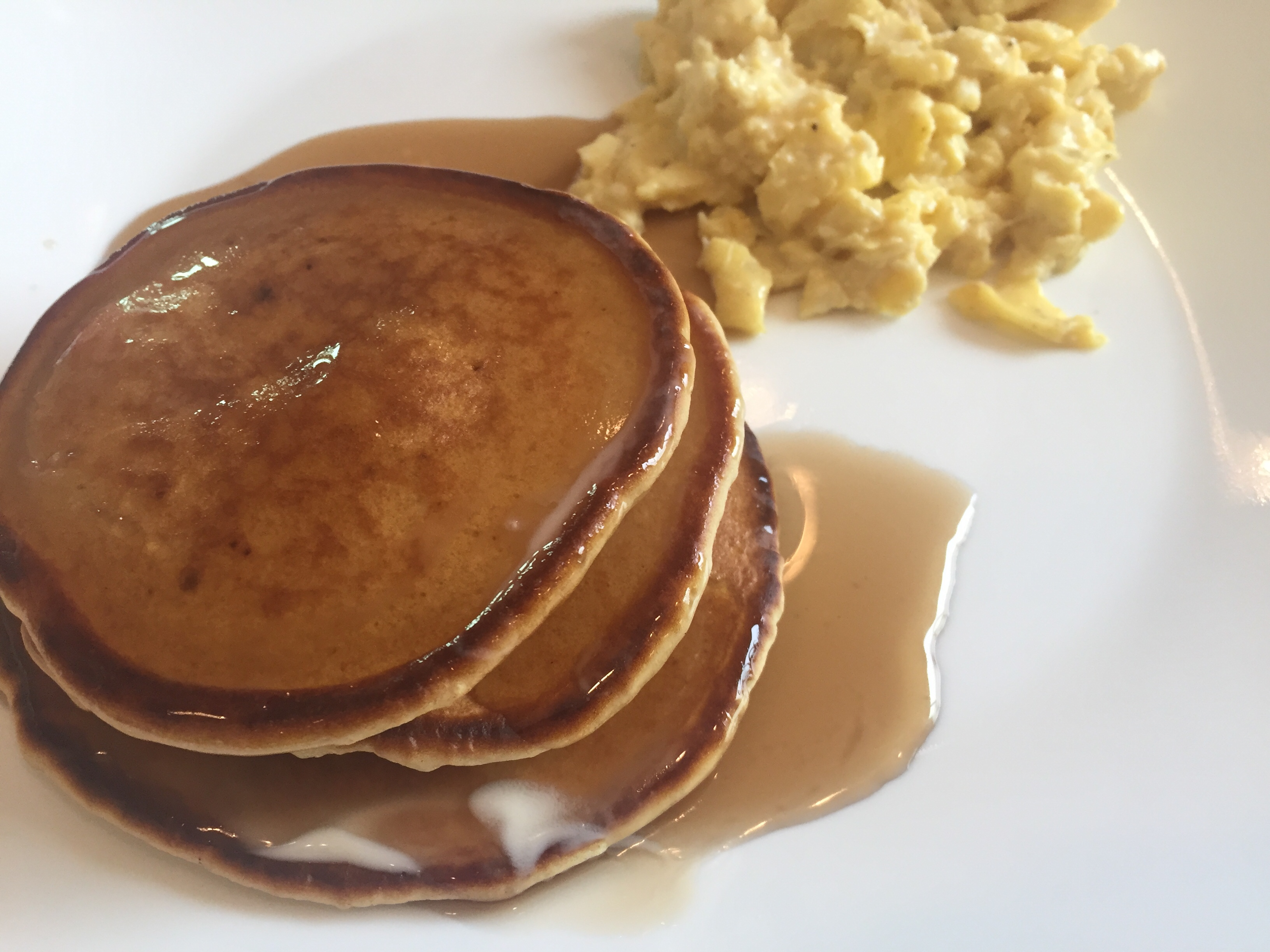Pancakes with no baking powder recipe genius kitchen not that long ago by me as an app on my kids new tv and im so happy i stumbled on it lots of great recipeske these easy peesy pancakes yum ccuart Images