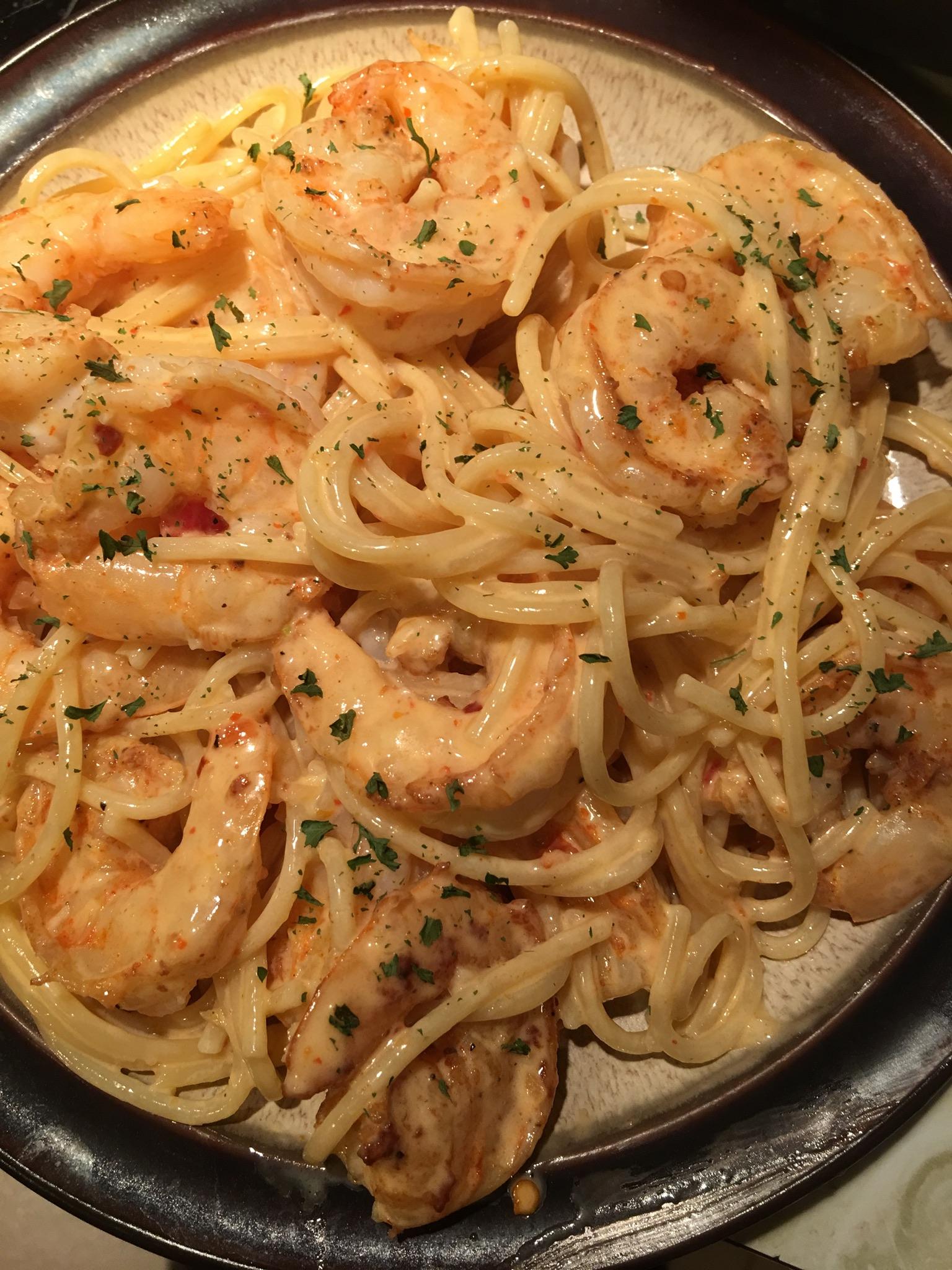 Bang Bang Shrimp Pasta Recipe - Genius Kitchen