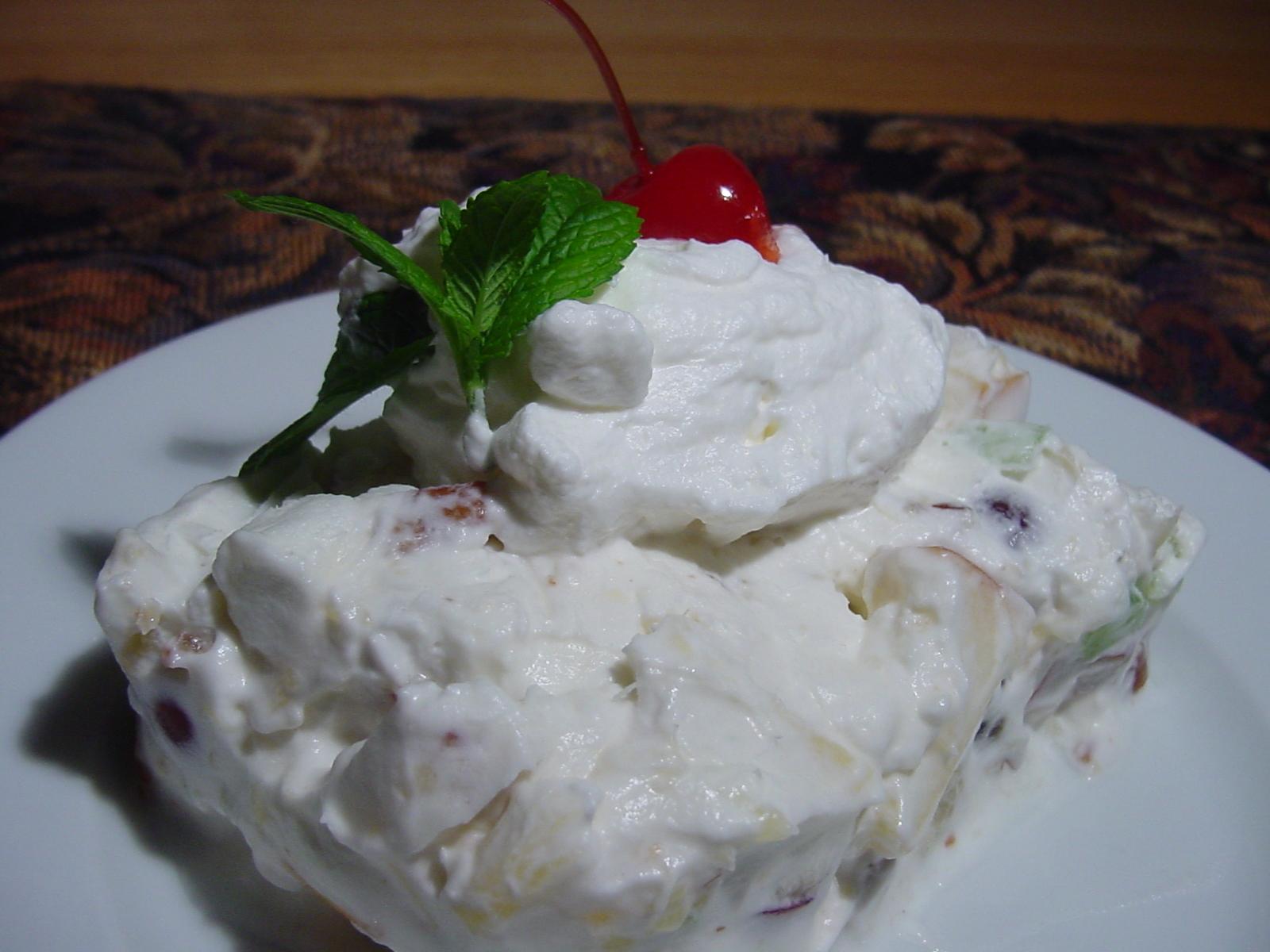 Easy Frozen Waldorf Salad Recipe