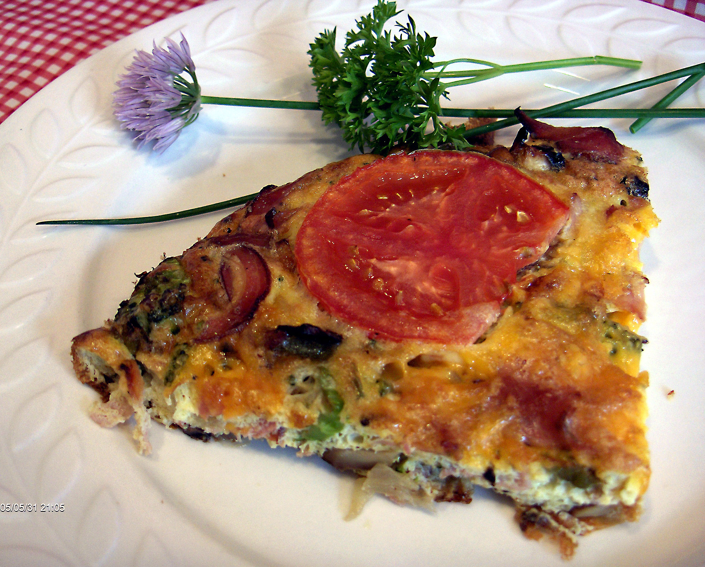 Baked Frittata For One Recipe Food Com