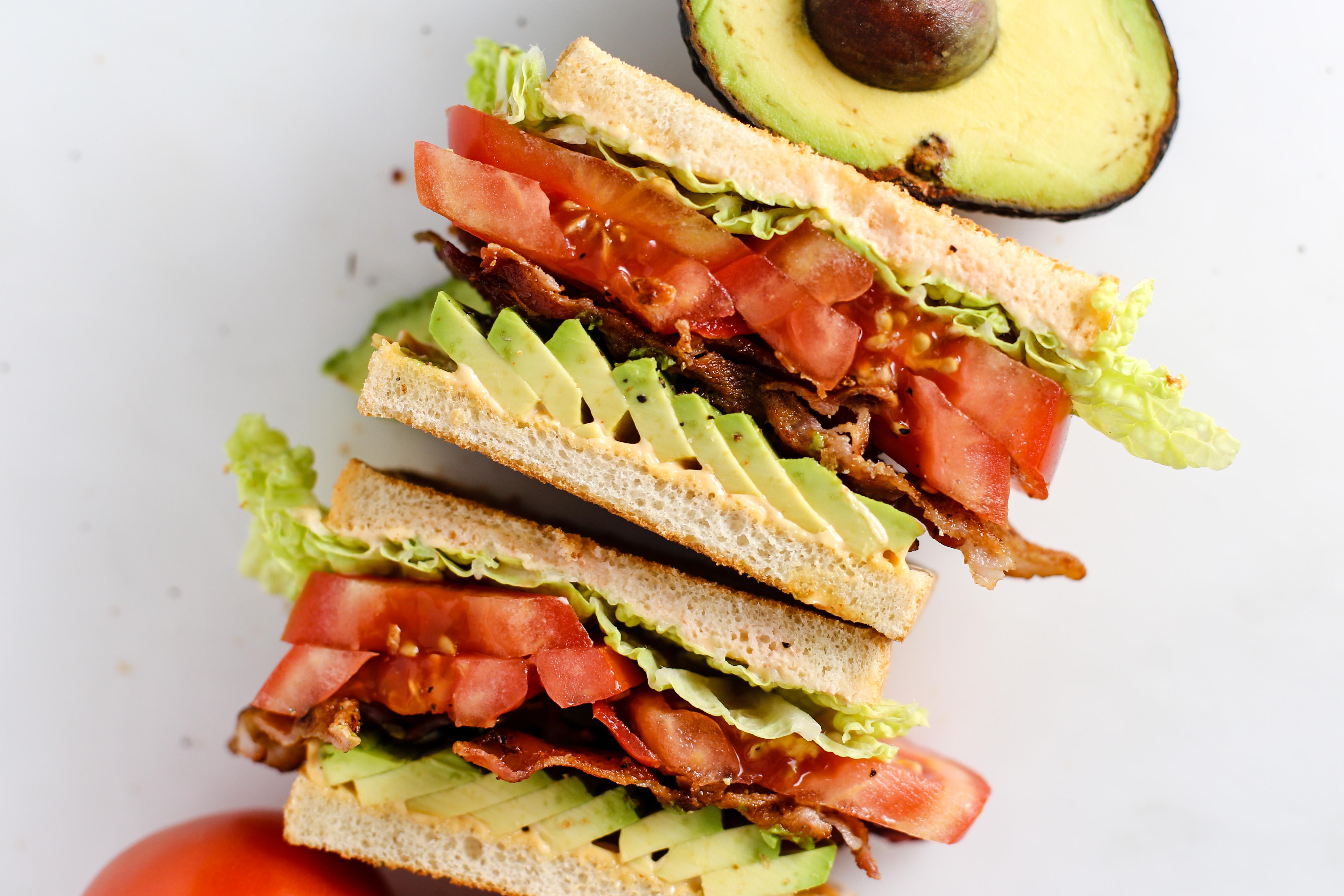 Blt Sandwich Recipe Food Com