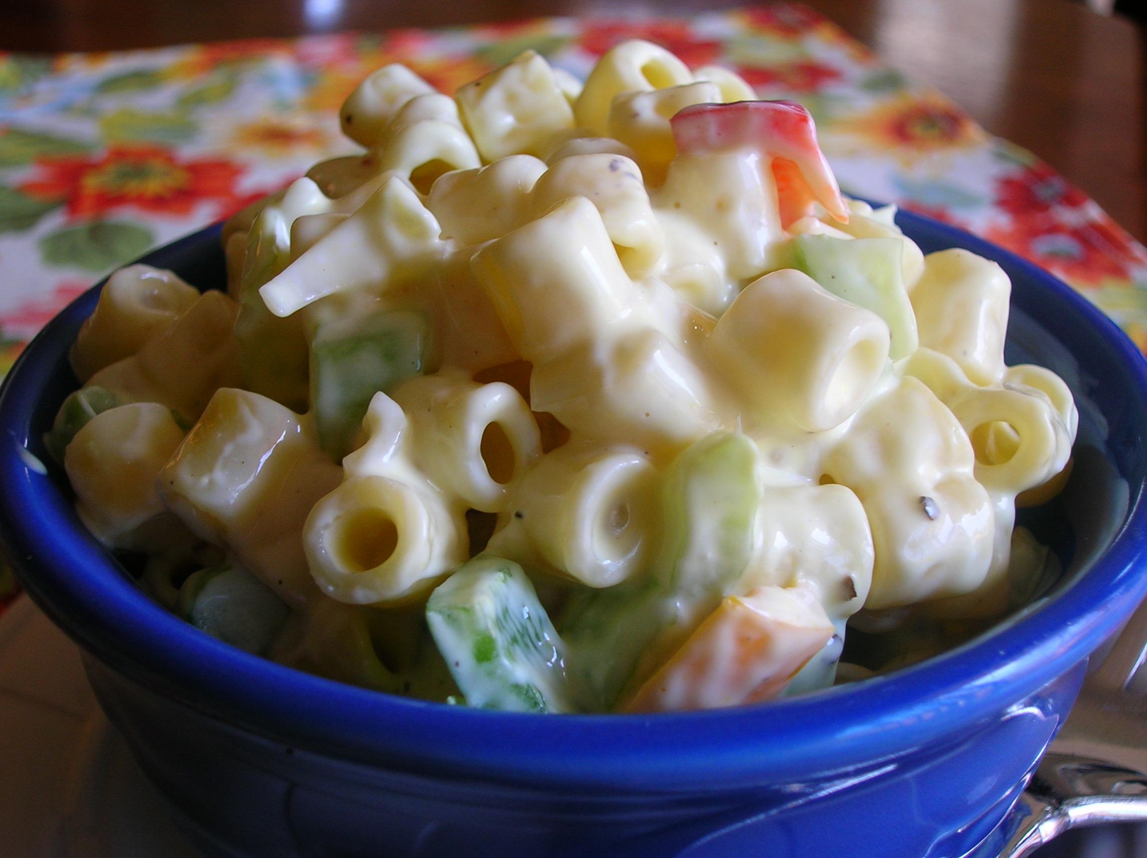Macaroni Salad Recipe Korean