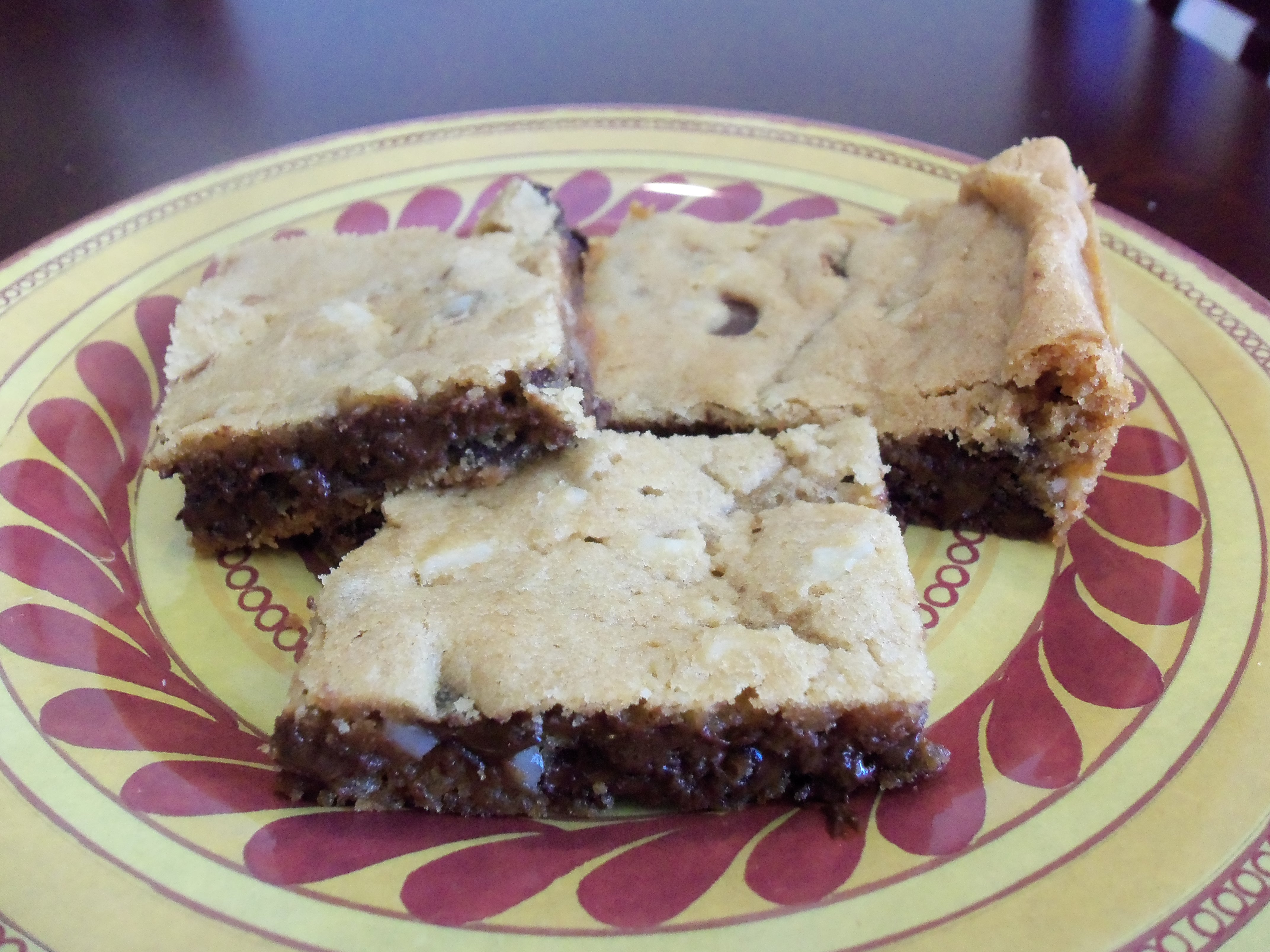 Chocolate Chip Cookie Cream Cheese Bars Recipe Food Com