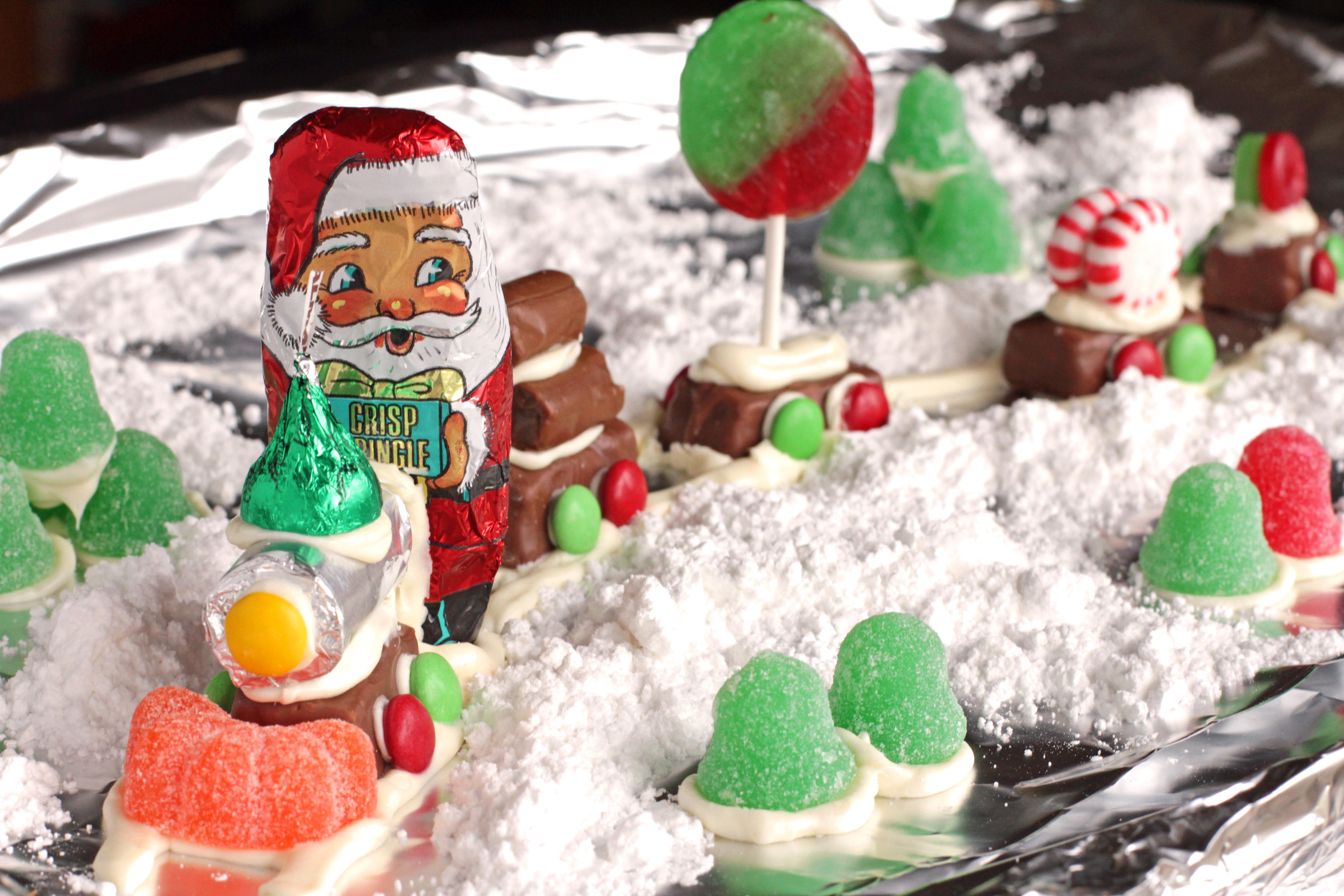 Christmas Candy Train.Candy Christmas Train Recipe Food Com