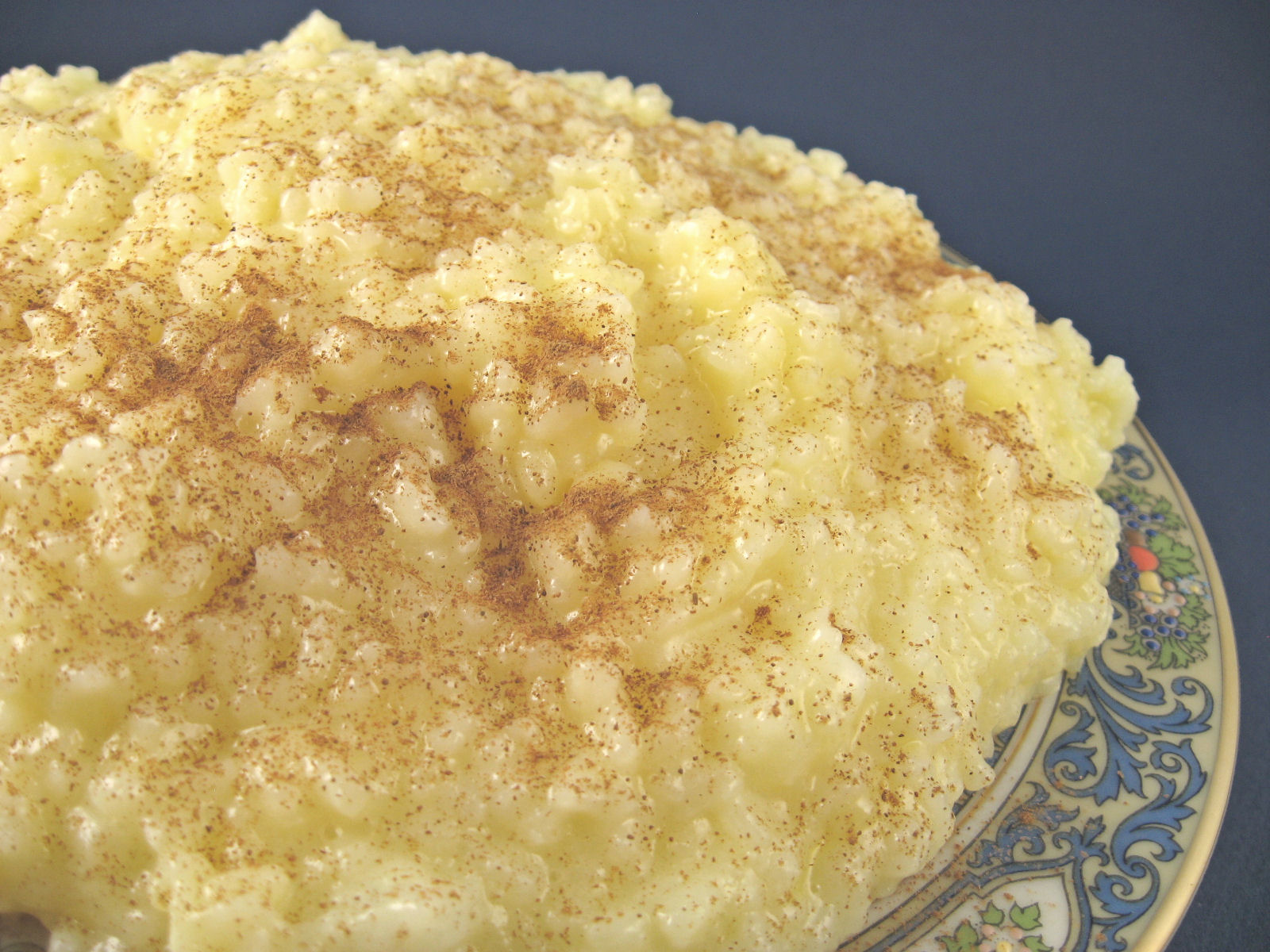 Greek Rice Pudding Rizogalo Recipe Greek Food Com