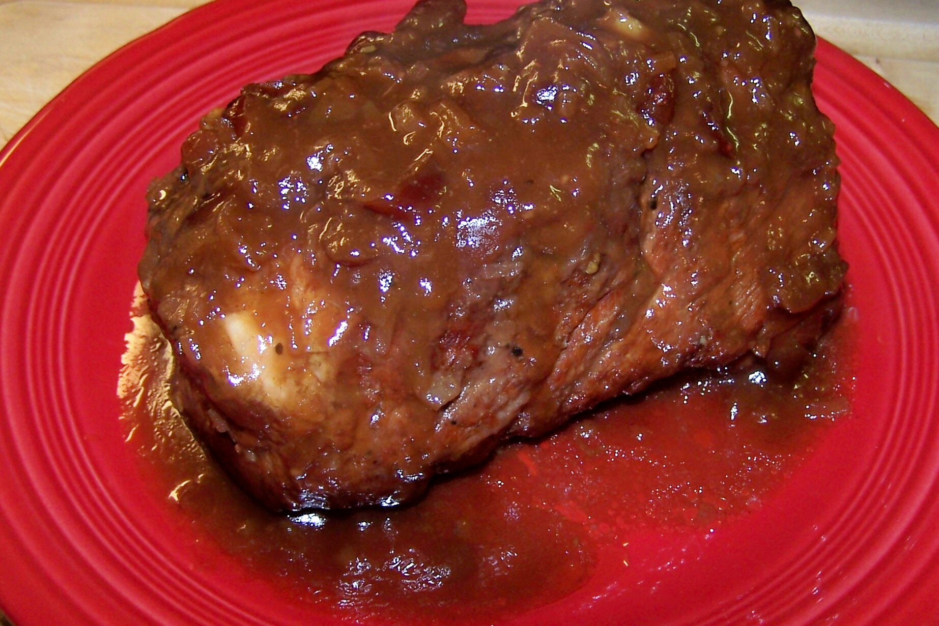 Slow Cooker Char Siu Pork Roast