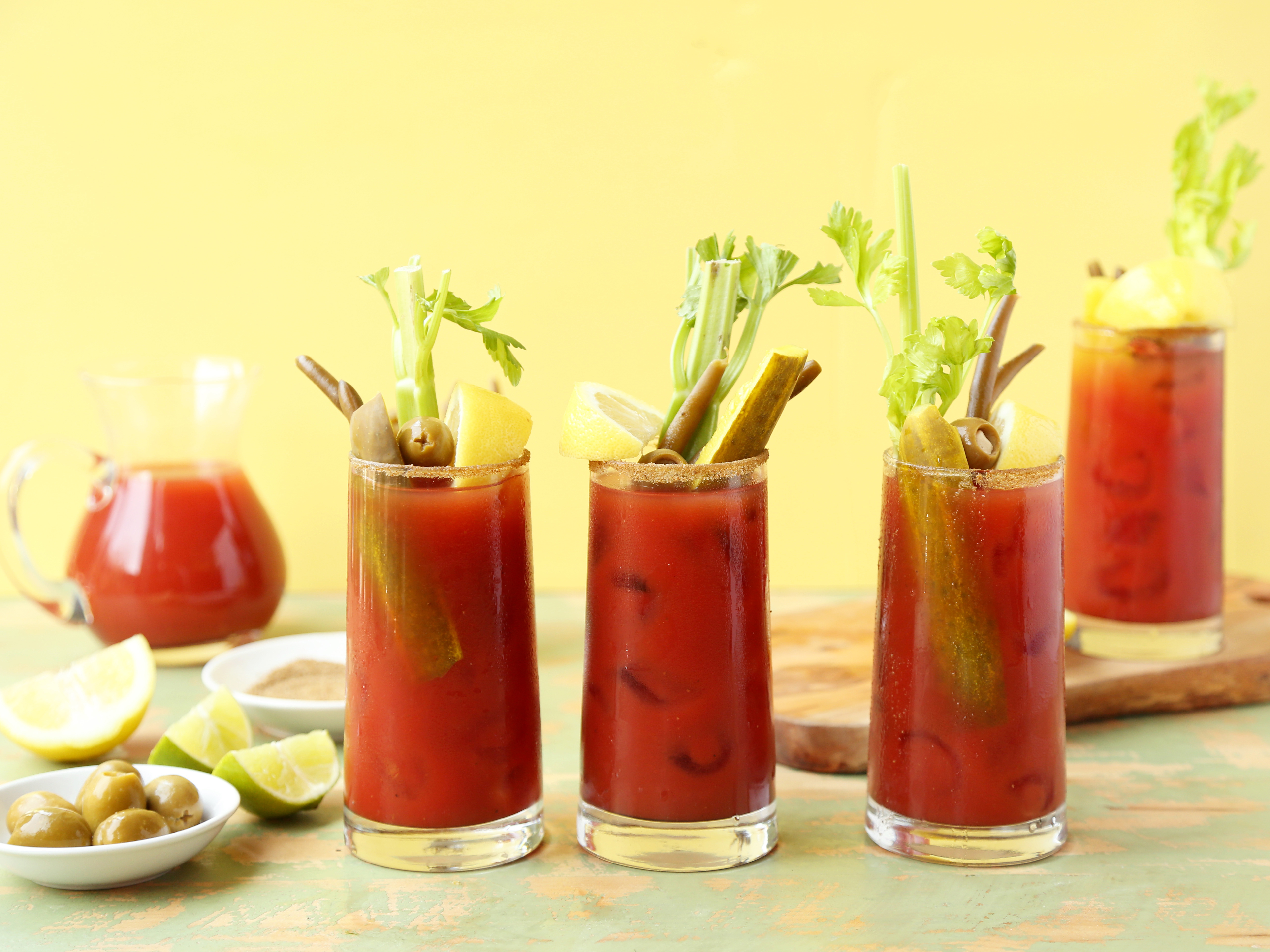 Bloody Mary By The Pitcher Recipe Food Com