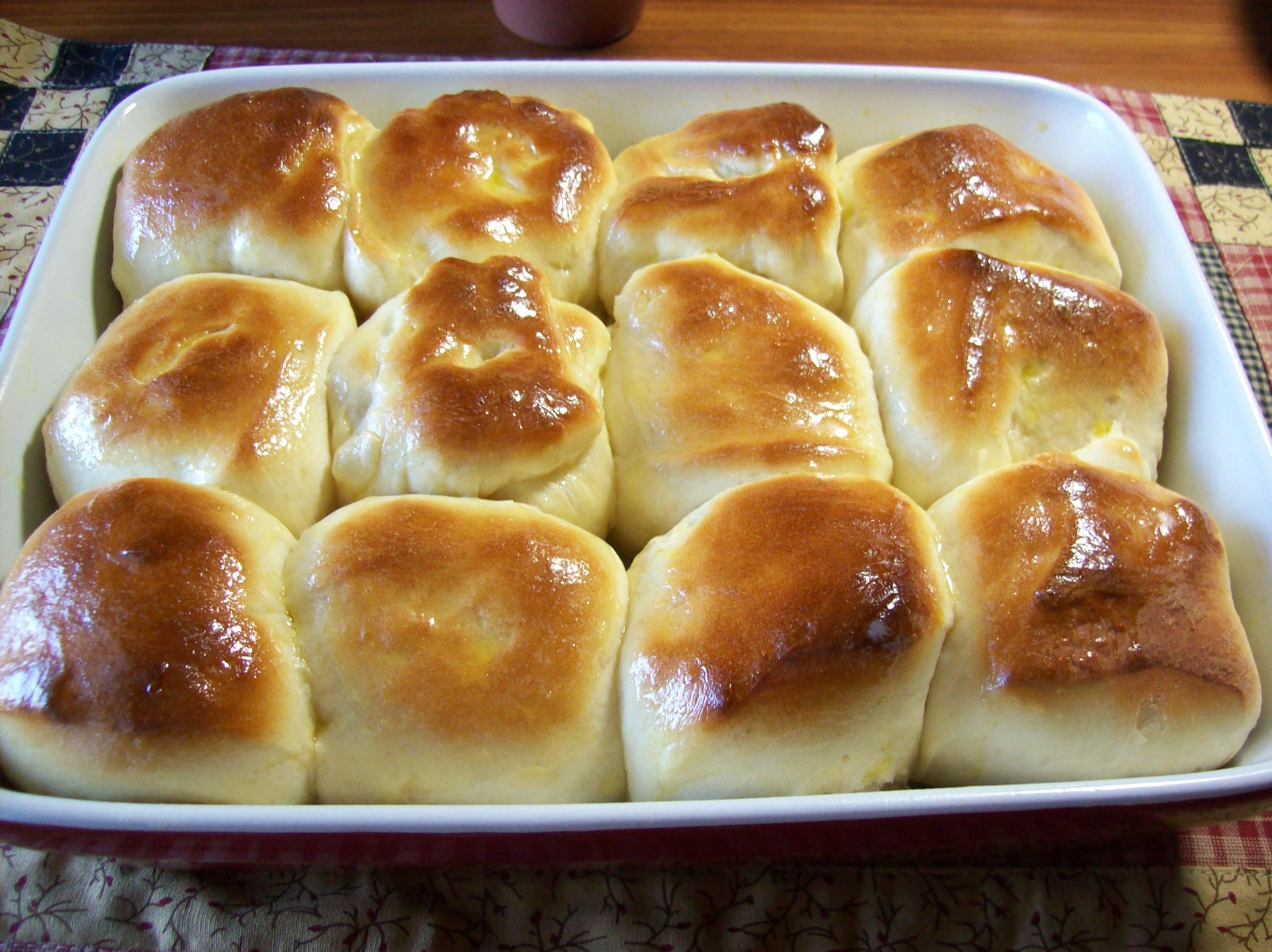 Easy No Yeast Homemade Dinner Rolls Recipe Food Com