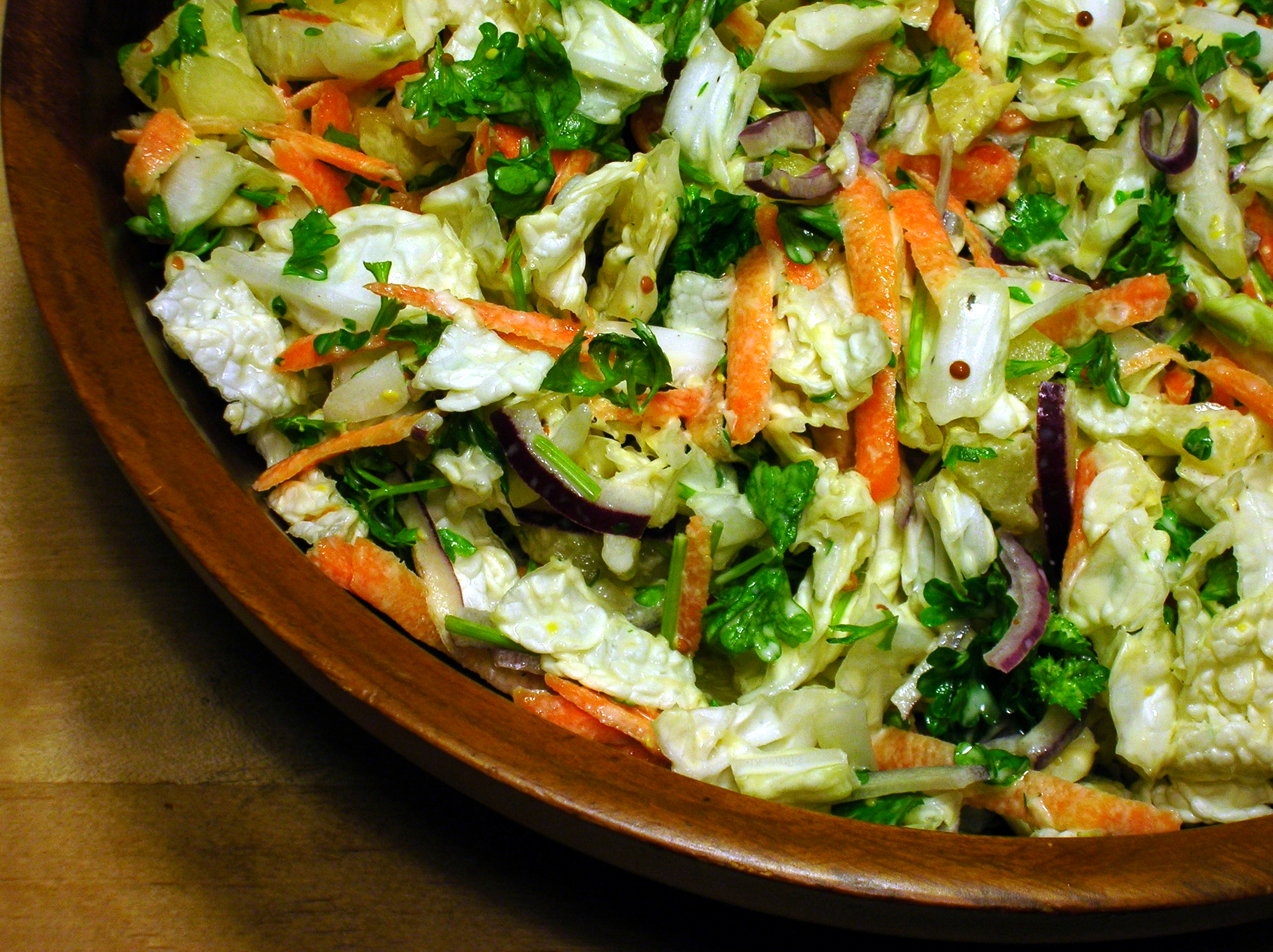 Chinese Cabbage Salad Recipe Food Com