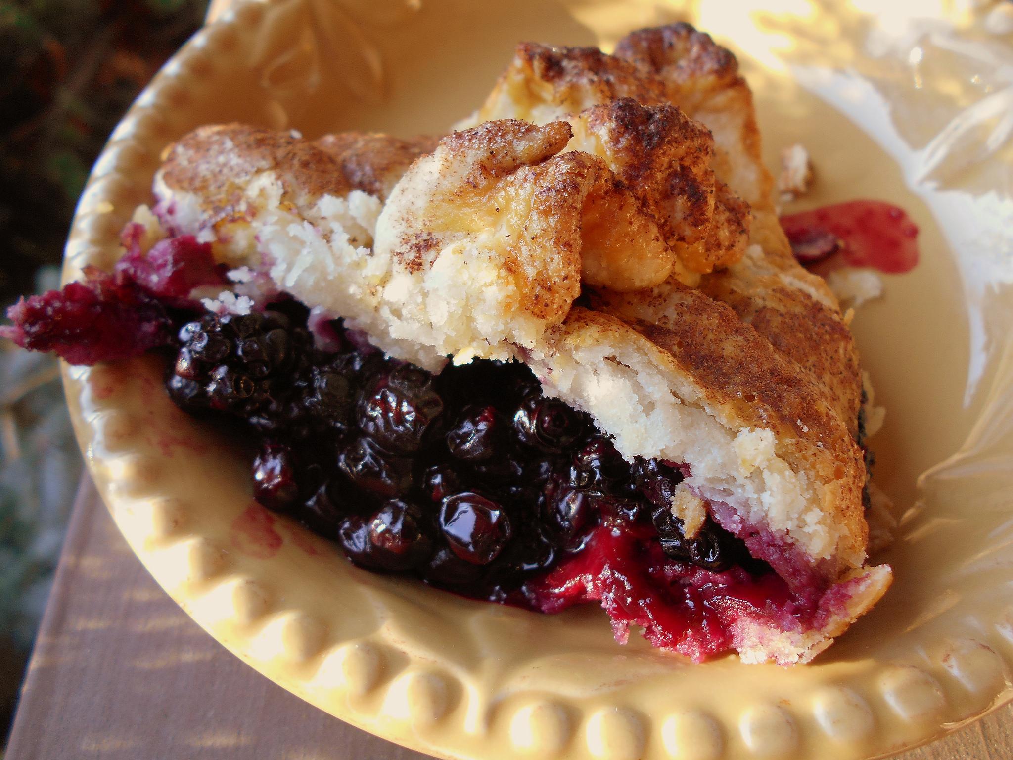 Wild Huckleberry Pie