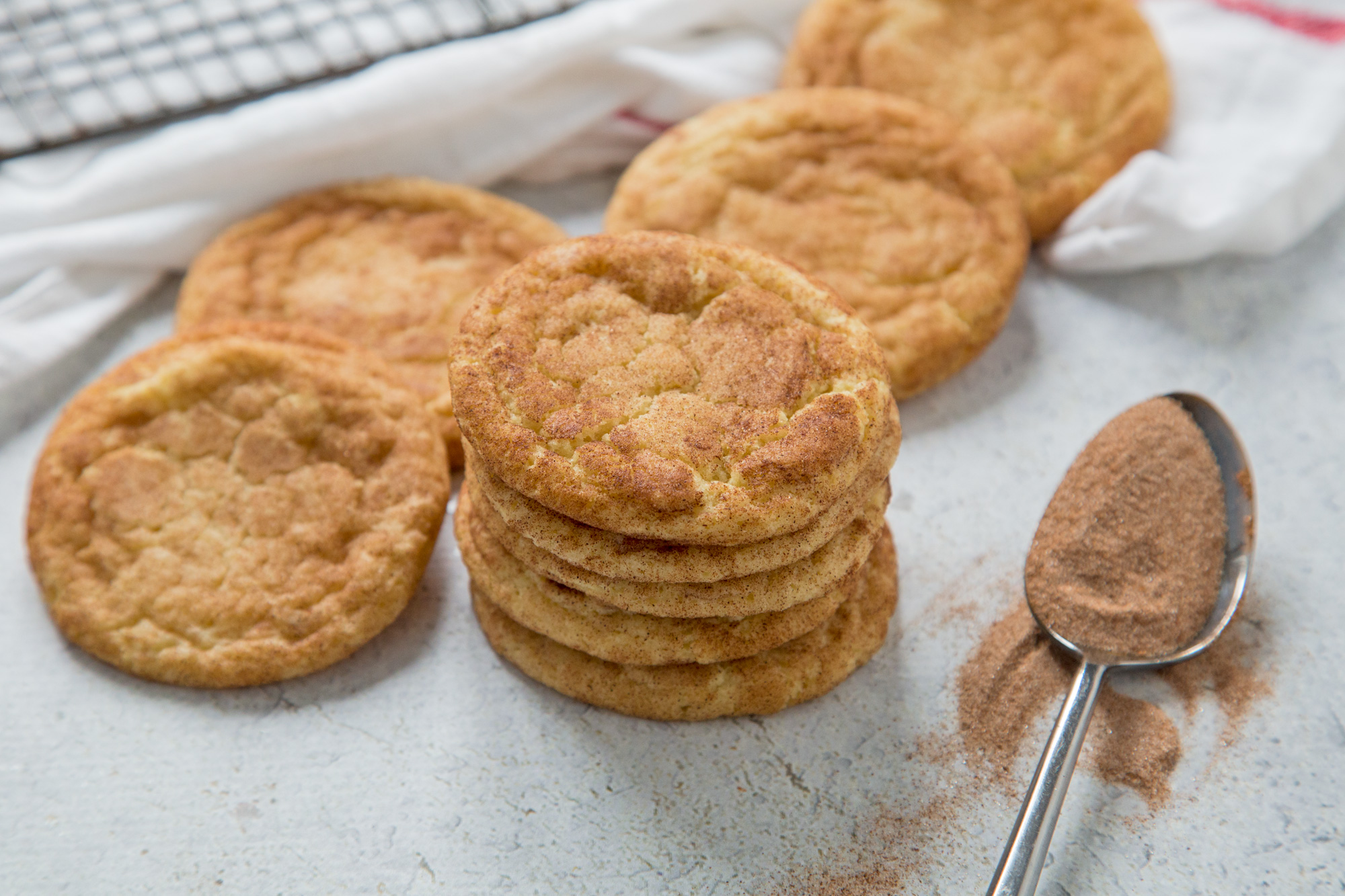 Soft Snickerdoodle Cookies Recipe Food Com