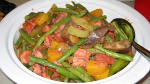 Pinakbet Filipino Meat Veggie Stew With Shrimp Paste Recipe Food Com
