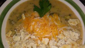 Golden Creamy Broccoli Soup Recipe