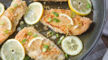 Recipes to impress genius kitchen garlic lemon chicken forumfinder Images