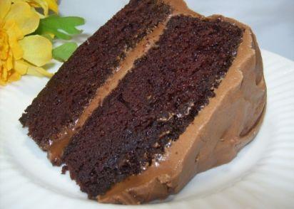 Hersheys Chocolate Cake With Frosting Recipe - Genius Kitchen