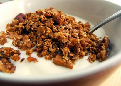 Crunchy oat cereal recipe genius kitchen ccuart Choice Image