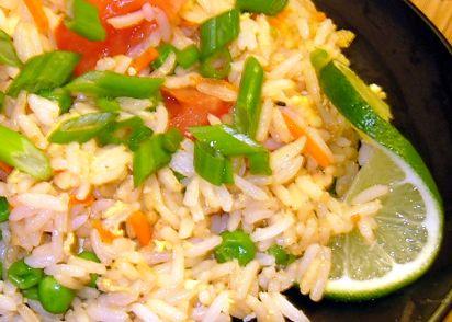 Kao pad thai style fried rice recipe genius kitchen ccuart Choice Image