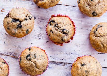 Easy moist banana blueberry muffins recipe genius kitchen forumfinder Images