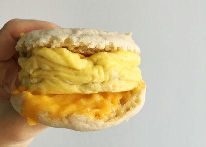 Easy Microwave Breakfast Sandwich Recipe