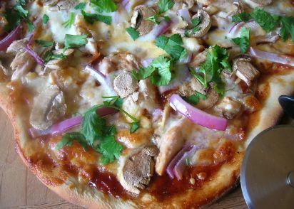BBQ Chicken Pizza - California Pizza Kitchen Style Recipe - Genius ...