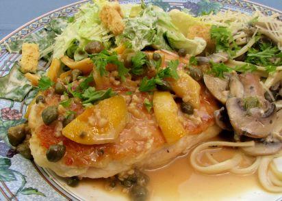 Very easy chicken piccata recipe genius kitchen forumfinder Images