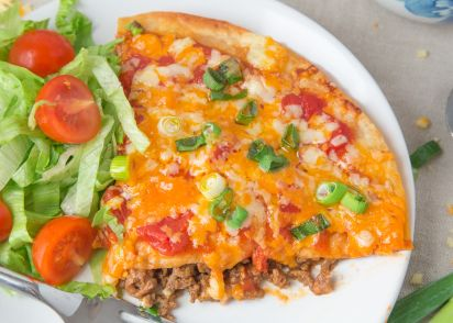 Taco bell style mexican pizzas recipe genius kitchen forumfinder Gallery