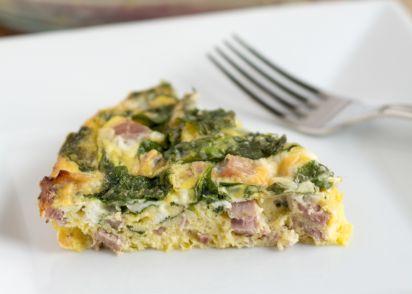 Crustless ham and cheese quiche recipe genius kitchen forumfinder Images