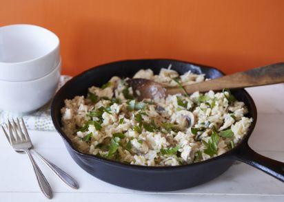 Chicken and mushroom risotto recipe genius kitchen forumfinder Gallery