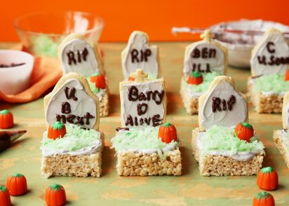 Halloween Tombstone Treats Recipe Genius Kitchen