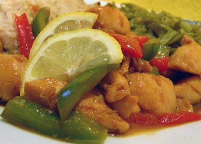 Diabetic asian lemon chicken recipe genius kitchen forumfinder Choice Image