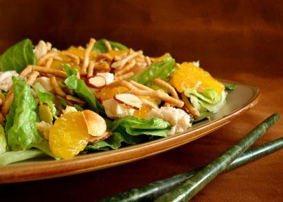 Mandarin chicken salad recipe chinesenius kitchen forumfinder Choice Image