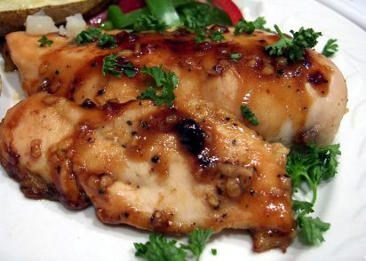 Ginger me up chicken low fat honey and ginger chicken breasts ginger me up chicken low fat honey and ginger chicken breasts recipe genius kitchen forumfinder Gallery