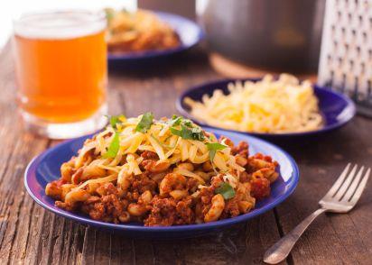 Homemade chili mac recipe homemade ftempo for Lawrence custom homes spokane