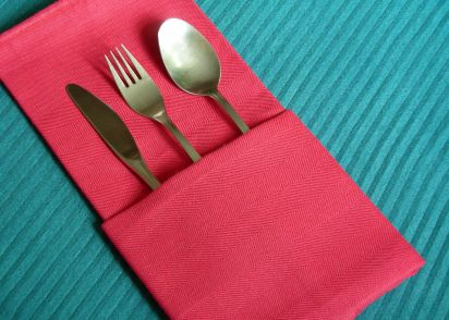 serviette napkin folding the simple pocket recipe genius kitchen
