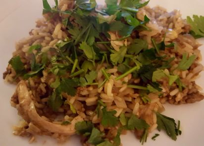 Lebanese chicken with rice recipe genius kitchen forumfinder Gallery