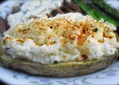 Twice-Baked Potatoes Microwave) Recipe - Genius Kitchen on reheating baked potato in microwave, baked sweet potato microwave, bake cookies in microwave, steak in microwave, oven baked potato in microwave, burrito in microwave, pop popcorn in microwave,