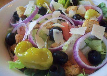 olive garden salad copycat recipe genius kitchen - Olive Garden Salad Calories