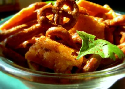Hot and spicy chex mix recipe genius kitchen forumfinder Choice Image