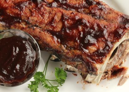 Low and slow oven baked ribs super simple recipe genius kitchen forumfinder Gallery