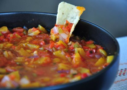 Peach salsa recipe genius kitchen forumfinder Gallery